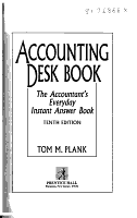 Accounting Desk Book PDF