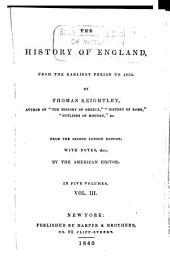 The history of England: from the earliest period to 1839, Volume 3