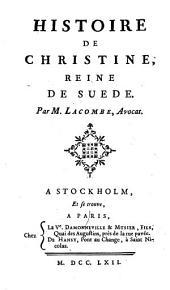 Histoire de Christine, reine de Suede