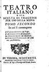 Teatro Italiano: Volume 2