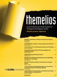 Themelios  Volume 42  Issue 1 PDF