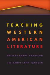Teaching Western American Literature PDF