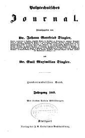 Dinglers polytechnisches journal: Band 111