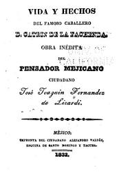 Vida y hechos del famoso cabellero d. Catrin de la Fachenda