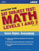 Arco Master the SAT Subject Test  Math Levels 1 And 2 Book