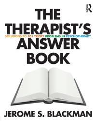 The Therapist S Answer Book Book PDF