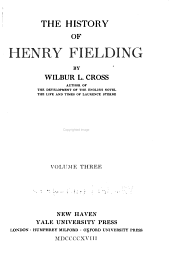 The History of Henry Fielding: Volume 3