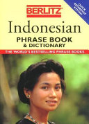 Indonesian phrase book   dictionary