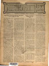 California Fruit News: Volume 52, Issue 1431