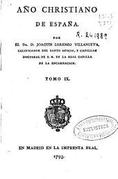 Año christiano de España: Volumen 9