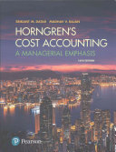 Horngren s Cost Accounting Plus MyAccountingLab with Pearson EText    Access Card Package PDF
