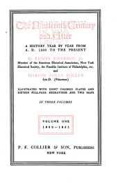 The Nineteenth Century and After: A History Year by Year from A.D. 1800 to the Present, Volume 1