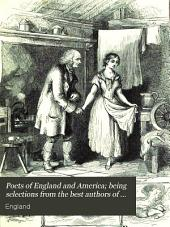 Poets of England and America; being selections from the best authors of both countries