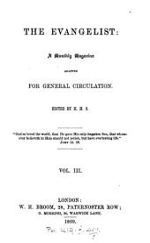 The Evangelist. ed. by H. H. S.: Volume 3