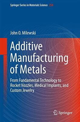 Additive Manufacturing of Metals