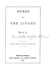 Hymns on the Litany