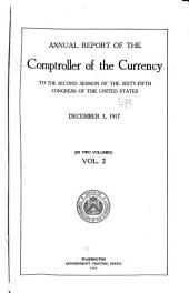 Annual Report - Comptroller of the Currency