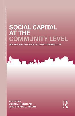 Social Capital at the Community Level