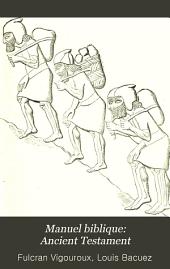 Manuel biblique: Ancient Testament