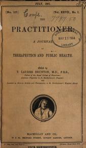 The Practitioner: Volume 27