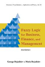 Fuzzy Logic for Business  Finance  and Management PDF
