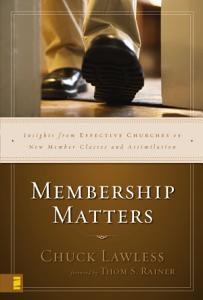 Membership Matters Book