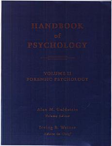 Handbook of Psychology  Forensic Psychology PDF