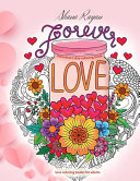 FOREVER LOVE Valentines Day Coloring Book