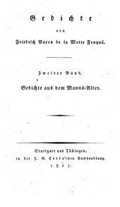 Gedichte: Gedichte aus dem Manns-Alter, Band 2