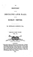 The History of the Decline and Fall of the Roman Empire  6 PDF