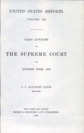 United States Reports: Cases Adjudged in the Supreme Court, Volume 140