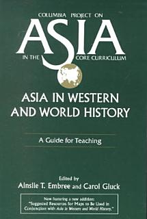Asia in Western and World History Book