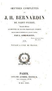 Oeuvres complètes de J. H. Bernardin de Saint-Pierre: Volume2