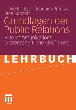 Grundlagen der Public Relations PDF