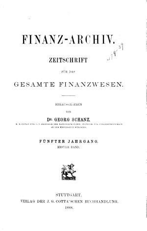 Finanz archiv