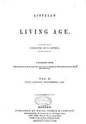 The Living Age: Volume 10