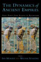 The Dynamics of Ancient Empires PDF