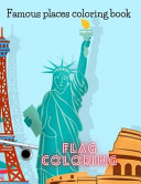 Famous Places Coloring Book