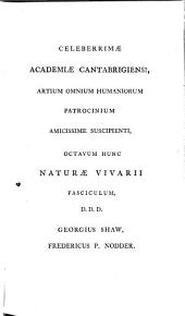 Vivarium naturæ or the naturalist's miscellany. ...