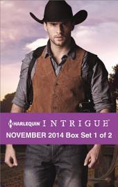 Harlequin Intrigue November 2014 - Box Set 1 of 2: Rustling Up Trouble\Boneyard Ridge\Cold Case at Cobra Creek