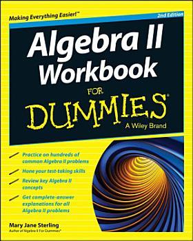 Algebra II Workbook For Dummies PDF