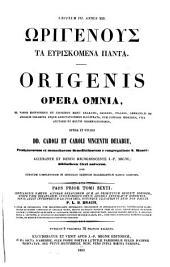 Patrologiae cursus completus ...: Series graeca, Volume 16, Part 1