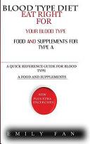 Blood Type Diet Book