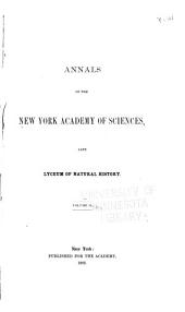 Annals of the New York Academy of Sciences: Volume 2