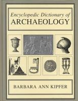 Encyclopedic Dictionary of Archaeology PDF
