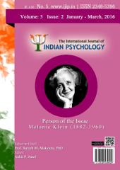 The International Journal of Indian Psychology, Volume 3, Issue 2, No. 5