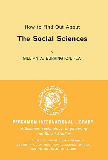 How to Find Out About the Social Sciences PDF