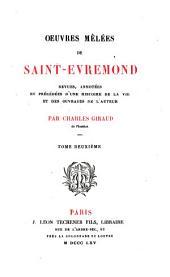 Oeuvres mêlées de Saint-Evremond: Volume2