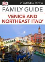 Eyewitness Travel Family Guide to Italy  Venice   Northeast Italy PDF