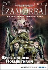 Professor Zamorra - Folge 1071: Spiel um den Höllenthron